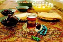 تغذیه . سفره افطار ماه رمضان